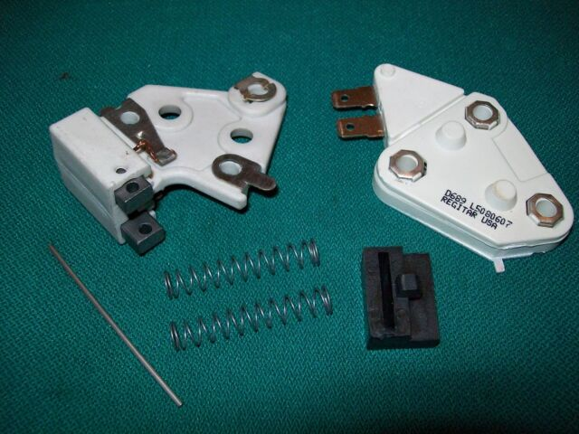 1 Wire Alternator Kit Self Excited Regulator Brush Holder