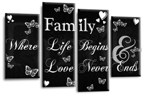 LARGE-FAMILY-QUOTE-BLACK-AND-WHITE-CANVAS-WALL-ART-PICTURE-4-PANEL-SPLIT