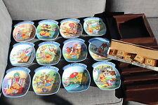 Winnie The Pooh Disney Bradford Exchange Plate Calendar Perpetual Wood Limited