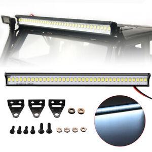 Super-Bright-1-10-36-LED-Lampara-de-Barra-de-luz-de-techo-para-Crawler-Traxxas-TRX4-SCX10-Radio