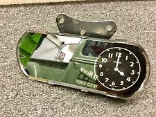 Vintage Western Clock Mirror For Original 1930's Cars and Trucks SCTA Rat Rod