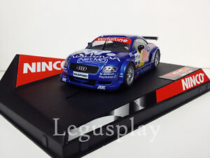 SCX-Scalextric-Slot-Ninco-50267-Audi-TT-R-034-Red-Bull-034