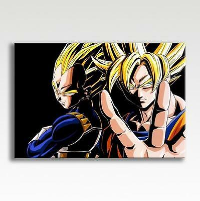 "Dragon Ball Z CANVAS Super Saiyan Goku Poster Photo Print Wall Art 30x20/"" CANVAS"