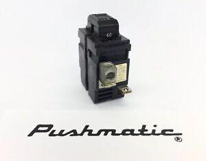 PUSHMATIC W260 60 AMP 240 VOLT REPALCEMENT MAIN BREAKER