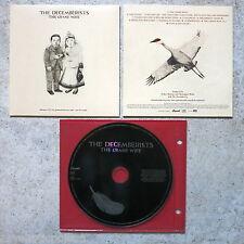 DECEMBERISTS - The Crane Wife Advanced Promo CD Capitol – DPRO 0946 3 79289 2 9