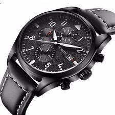 OCHSTIN Montre Pour Homme Model De Luxe Chronographe Date Bracelet En Cuire