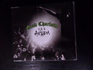 CD SINGLE  GOOD CHARLOTTE  THE ANTHEM  CD 1 - NORWICH, Norfolk, United Kingdom - CD SINGLE  GOOD CHARLOTTE  THE ANTHEM  CD 1 - NORWICH, Norfolk, United Kingdom