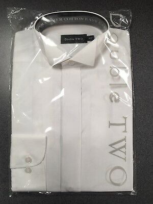 GüNstig Einkaufen Brand New Men's White Wing Collar Shirts. Double Two With Fly Front. Buy One Give One