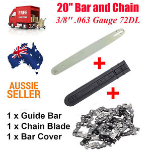 """16/"""" Guide Bar /& Chains Fits STIHL 029 034 036 038 039 MS290 MS340 MS360 MS390"""