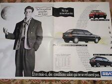 CATALOGUE AUTO : SEAT : GAMME 01/1990