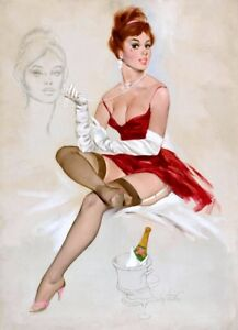 Vintage Pin Up Girls Retro Burlesque Erotic Prints /& Posters A1,A2,A3,A4 Sizes