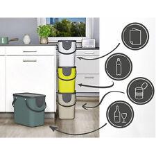 Cubo de Basura en Plastico de Segregación 25 Litros Colores Reciclaje Cocina