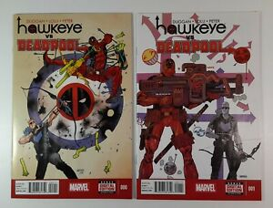 Hawkeye-Vs-Deadpool-0-1-9-4-NM-Cameo-Spider-Gwen-Thor-Marvel-Comics-1st-Print