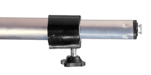"CV Aluminum Boat Cover Support Pole Adjust 22/""-70/"" w// Male Snap and Vinyl Cap"