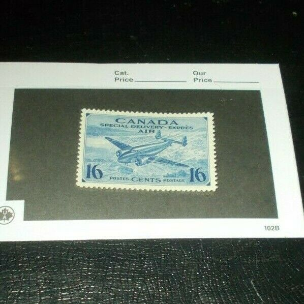 Canada Back Of The Book CE 1 Mint Never Hinged MNH Airmail Stamp