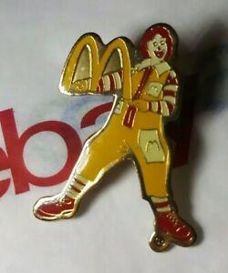 Ronald mcdonald minifigurerestaurant clown toy figure fast food golden arches
