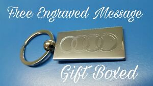 Personalised Chrome Boxing Glove Keyring In Gift box with your message ANY TEXT