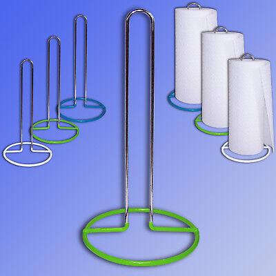 Edelstahl Küchenrollenhalter Küchen Papier Tuch Rolle Halter Ständer Küchenrolle