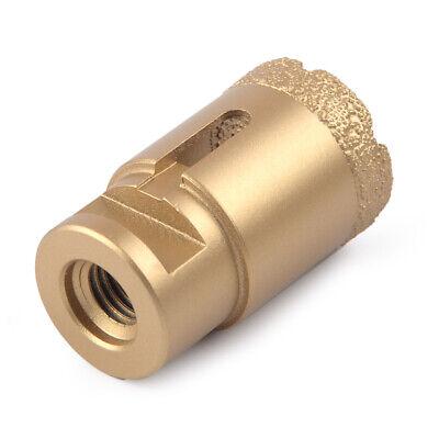 35mm diamond drill core bits vacuum brazed hole saw m14 thread granite'marble