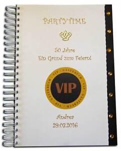 Gästebuch Geburtstag Geschenk Party Feier 20 30 33 40 44 55 60 65 70
