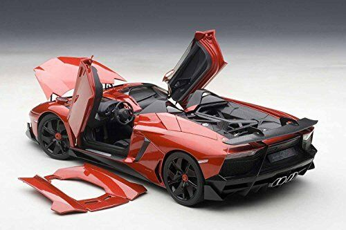 NEW AUTOart 74673 1 18 Lamborghini Aventador J Metallic Red