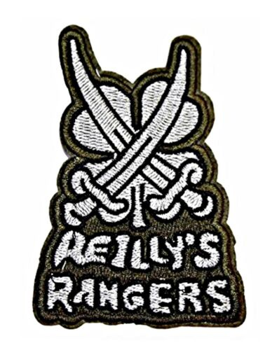 """Fallout Game Reilly/'s Rangers 3 3//4/"""" Tall Embroidered Iron on Patch"""