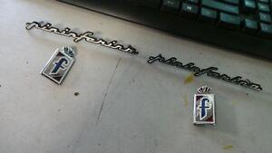Ford-focus-cc-convertible-Pininfarina-set-4-badges-driver-passenger-05-10-emblem