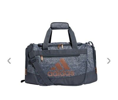 JERSEY ONIX/ROSE GOLD adidas Defender III Small Duffle Bag (D) | eBay