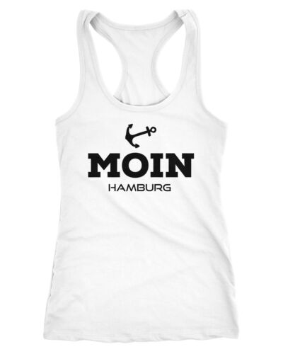 Damen Tank-Top Shirt Moin Hamburg Racerback Neverless®
