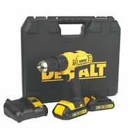 DeWALT 18V DCD776 Combi Drill XR with Two Batteries, Charger and Hard Carry Case