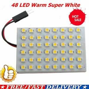 48-LED-Powerful-Warm-White-Strip-Car-Caravan-Interior-Brigh-Super-Light-Lamp-Hot