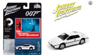 Johnny Lightning Lotus Esprit Si James Bond Die Spion Who Love Me JLSP127 1//64