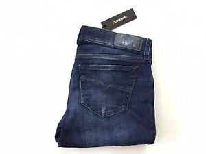 $178 Diesel Damen Grupee-Ankle super slim skinny Jeans r37j8 Größe w30
