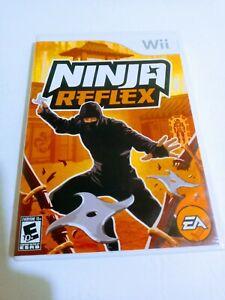 Ninja Reflex (Nintendo Wii, 2008) Complete w/ Manual CIB