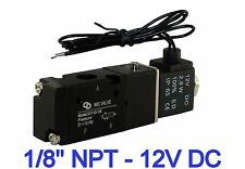 18 3 Way Directional Control Electric Solenoid Control Cylinder Valve 12v Dc