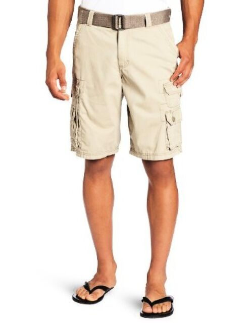 Lee Mens Big /& Tall Dungarees New Belted Wyoming Cargo Short Cargo Shorts