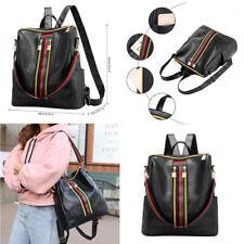Womens Leather Backpack Purse Sling Shoulder Bag Handbag 3 in 1 Convertible f29b73fb6501d