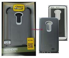 OtterBox Defender Series and Holster Clip Glacier Grey White Case For LG G Flex