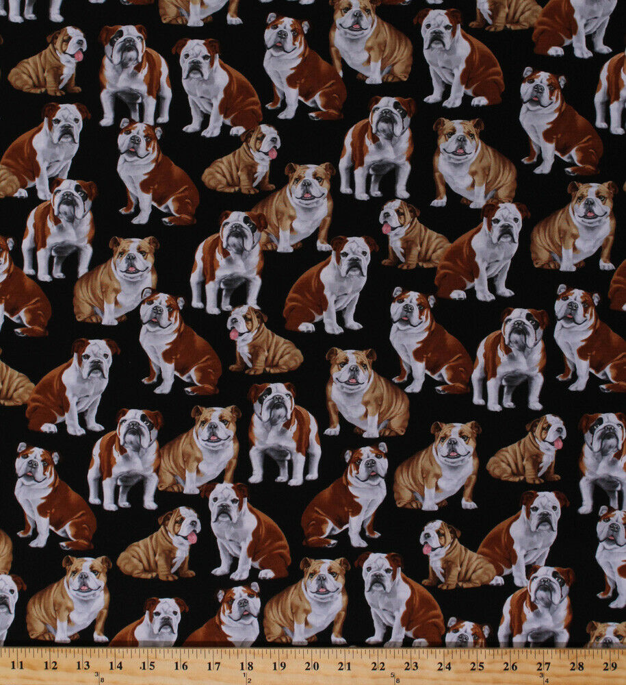 Dogs Puppy Words Phrases Good Dog Pets Blue Cotton Fabric Print By Yard D373 20 For Sale Online Ebay