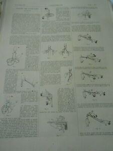 Actif Gravure 1890 - Tours De Ficelles 18figures Rendre Les Choses Commodes Pour Le Peuple