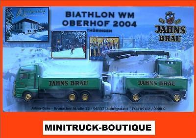 Jahns Bräu - Biathlon WM 2004 +++ Steyr-HZ mit Ladekran