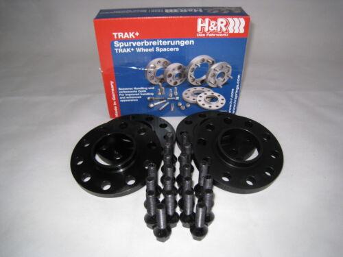 H/&r ensanchamiento negro Black-line bmw va 30mm//ha 40mm con tornillos