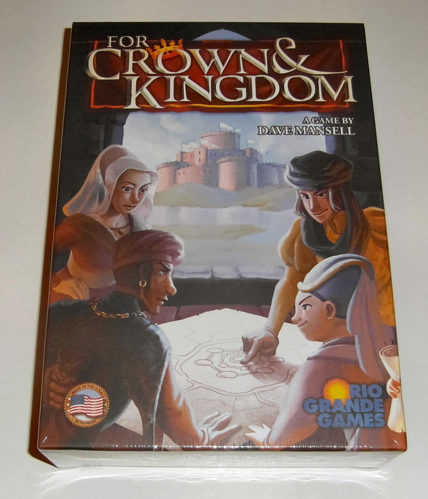 For Crown and Kingdom - Rio Grande Games - 2016