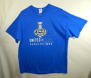 New-York-Rangers-2014-NHL-Hockey-Stanley-Cup-Finals-T-Shirt-EXTRA-LARGE-XL