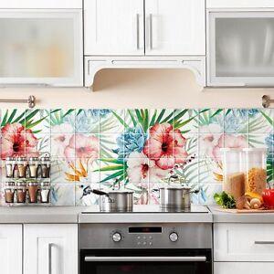PS00118 Adesivi murali in pvc per piastrelle per bagno e cucina ...