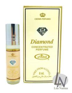 34f16bdd7 Diamond Al Rehab 6ml Fragrance Alcohol Free Roll On Attar Perfume ...