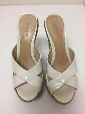 Schutz  Wedges hi heel Plataform Sandals Size 8