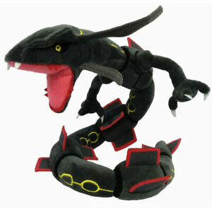 "Shinny Black Dragon Rayquaza Monster Plush Doll Stuffed Toy Gift 30"""