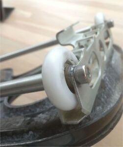 Ball-bearing wheel Rowing 4 wheels