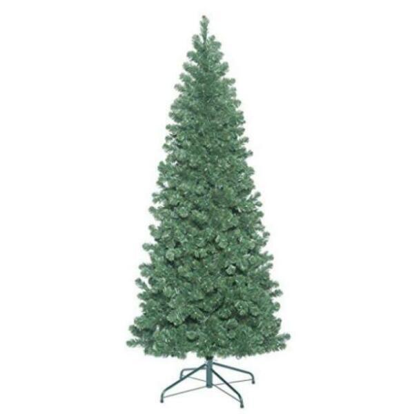 Vickerman 5.5' Oregon Fir Slim Artificial Christmas Tree ...